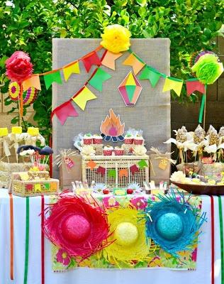 Blog sheilaefram: Decoraçâo Festa junina