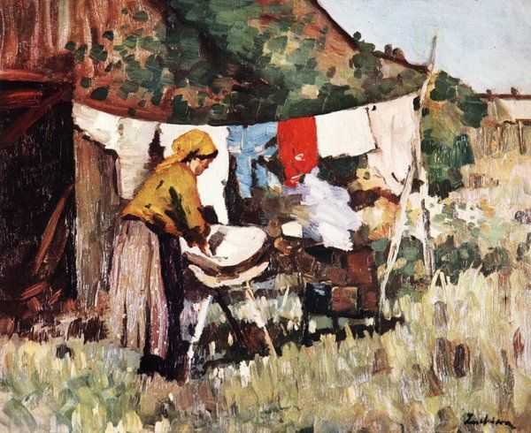 Stefan Luchian Washing woman