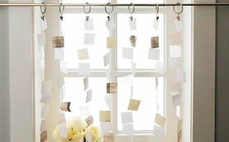 #Cortinas caseras hechas con #papel.  #homemade #curtains #paper #easy #truco #trucos #tip #tips #homemade #casero #manualidades #handicrafts #casa #home #idea #ideas #original #decoracion #decoration