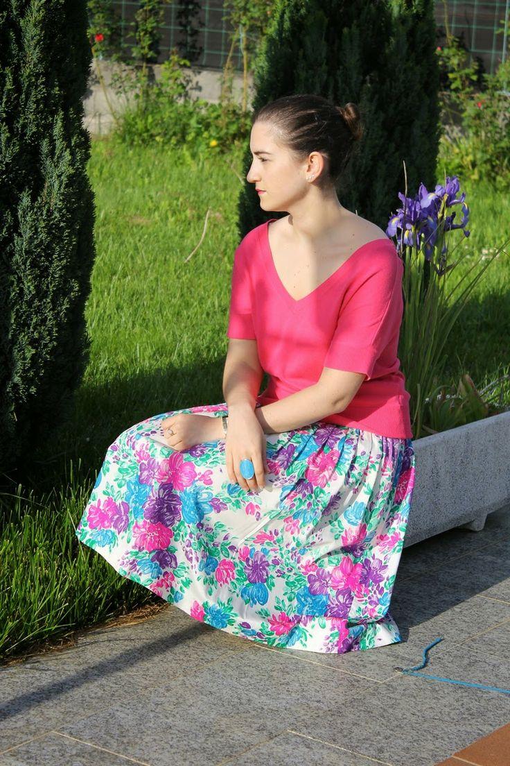 Yves Saint Laurent vintage skirt
