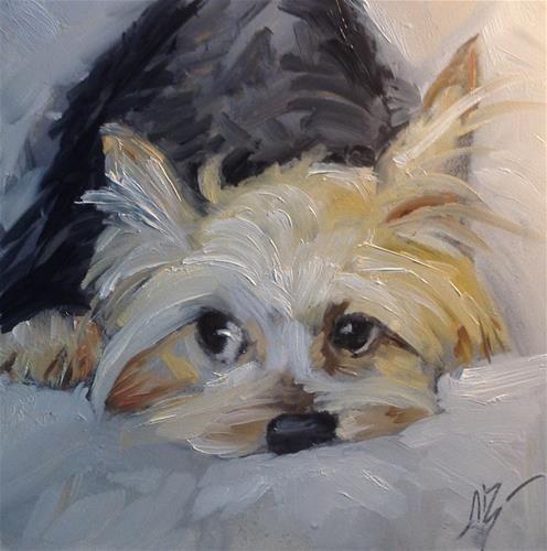 "Daily Paintworks - ""Precious"" - Original Fine Art for Sale - © Annette Balesteri"