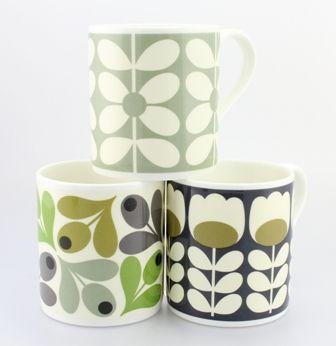 Orla Kiely mugs