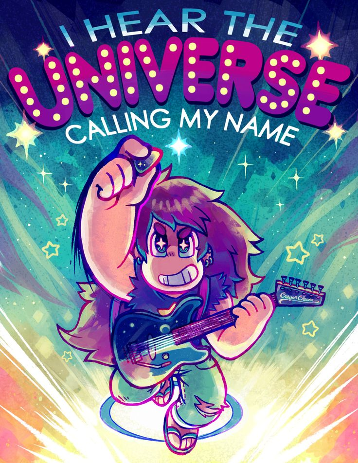 """""""No one can ignore the Universe."""" by Crayon Chewer"""