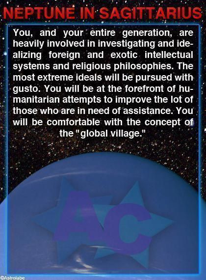 Neptune In Sagittarius Numerology Chinesenumerology Numerology Astrology Signs Sagittarius Horoscopes