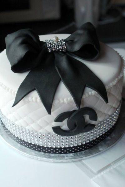 coco chanel cake | Tumblr                                                       …