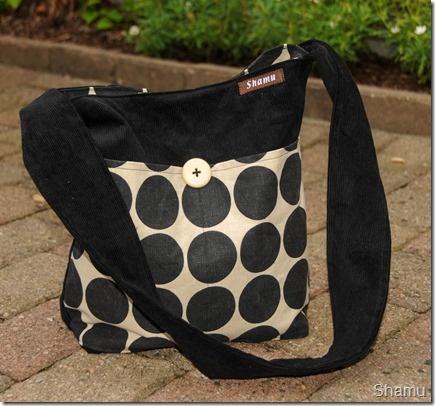 Dottet Zebra bag, shamubag