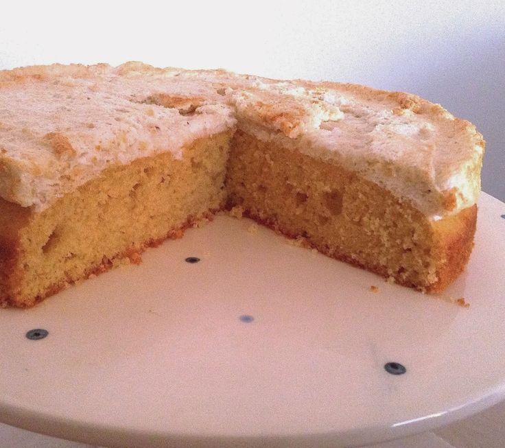 bolo de limão merengado