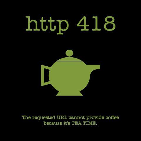 HTTP 418 - Teapot T-Shirt