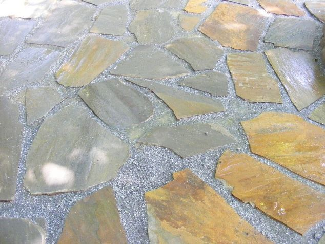 How To Make A Rock Patio Best 25 Flagstone Patio Ideas On Pinterest