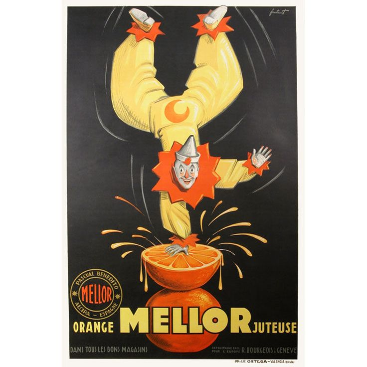 Deco Spanish poster, could this be by Ortega?
