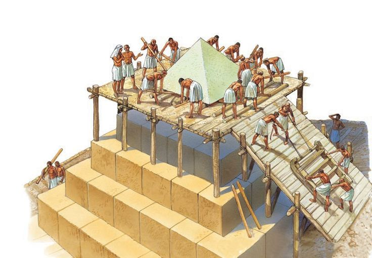Pyramids: how they were built - Q-files Encyclopedia