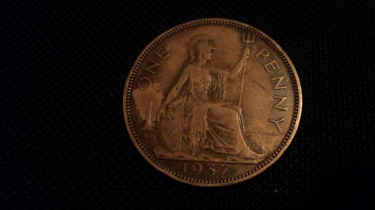 British Penny 1937