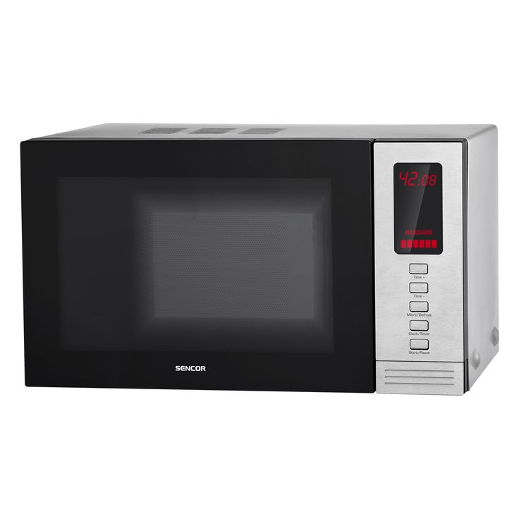 Microwave Oven SMW 6320 - Pre-programmed cooking (6 menus) - Defrosting based on weight - 5 microwave power levels