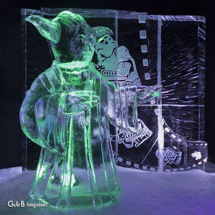 https://flic.kr/p/P6iU1N   Patience You Must Have...Yedi Master Yoda on Ice