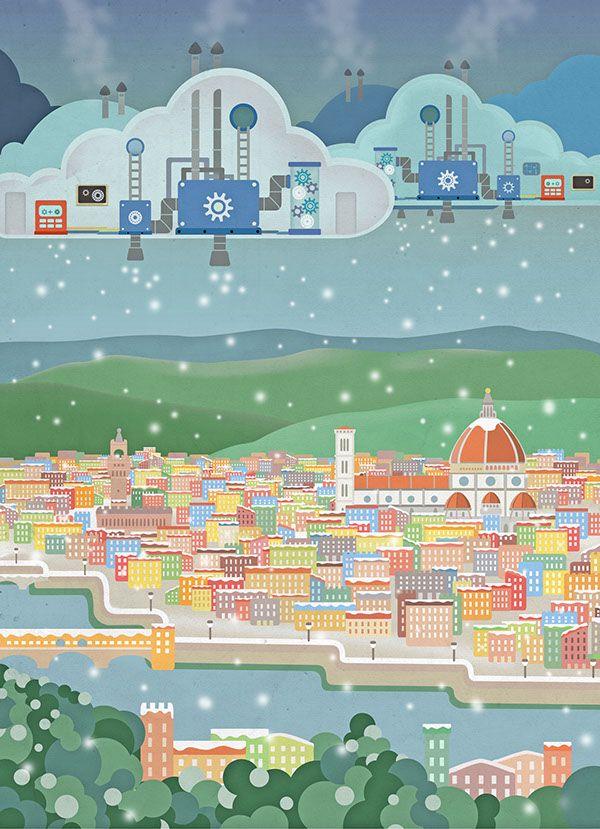 Snow - Lungarno Illustration on Behance