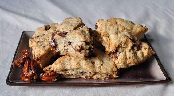 Spice Scones with Chocolate and Spiced Pecans | Recipe | Scones ...