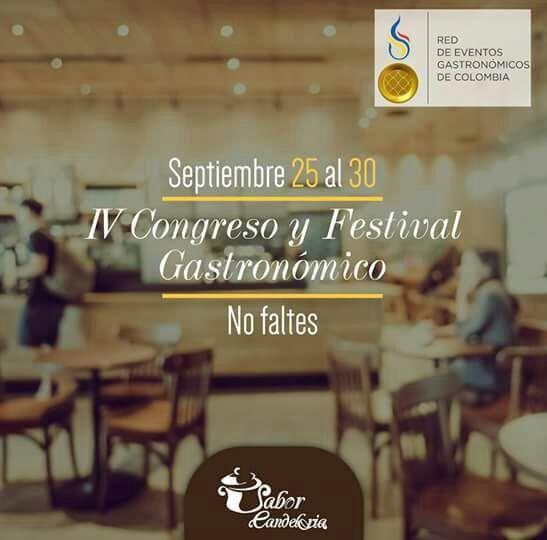 Gratis Festival Gastronómico #EncontrasteLaCandelaria #SaborCandelaria #SaborColombia 🍽️