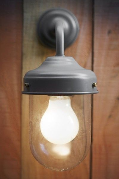 Barn Lamp - For Outside Use - Charcoal - Outdoor Lighting - Lighting