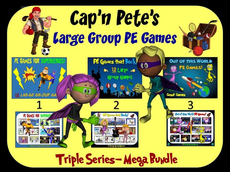 17 Best Images About Cap N Pete S Physical Education Tpt