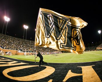 W F Flag... No not for Wake Forest.. Its for Willie & Frances