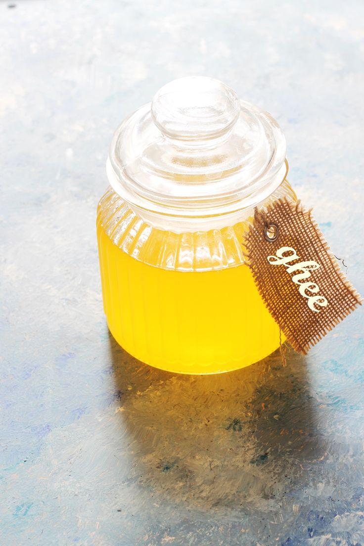 Jagruti's Cooking Odyssey: Homemade Desi Ghee - Homemade clarified Butter #DesiGhee #Butter