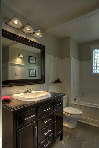 Our new Bathroom, this is my serene room in the house. #CILserenity