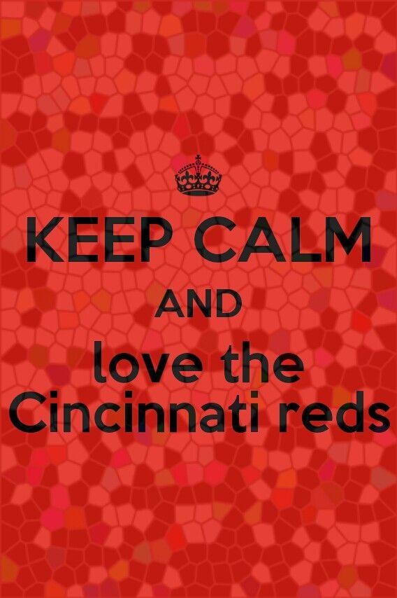 I love the Cincinnati reds!