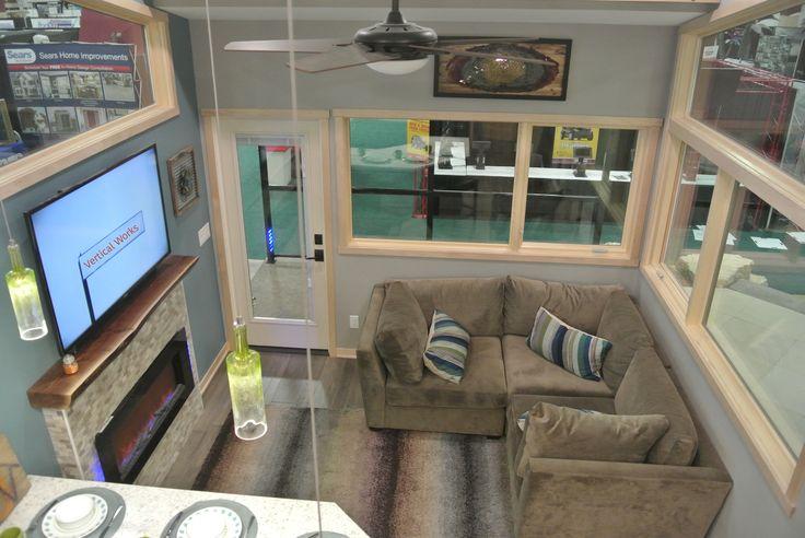 The Denali, a 400 sq ft park model home from Utopian Villas in Oak Creek, Wisconsin.