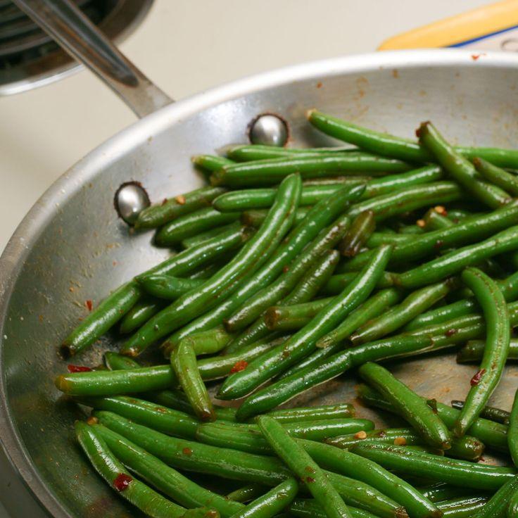 Speed Beans: Sauteed Frozen Green Beans