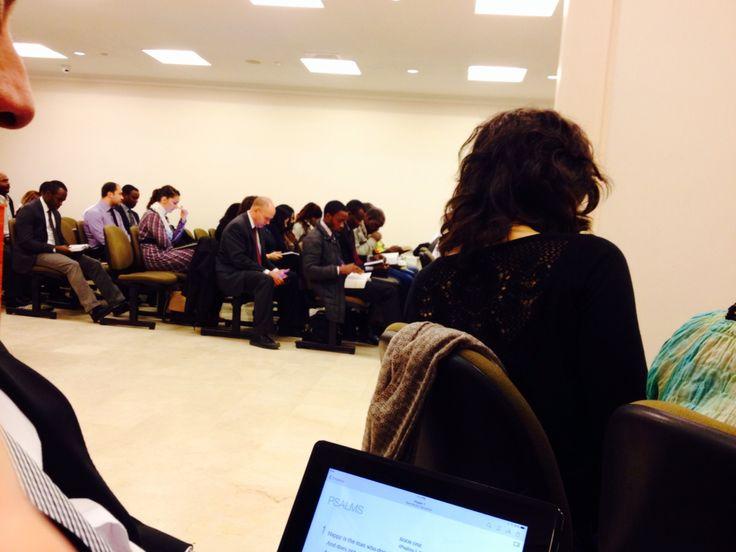 English meeting in Istanbul