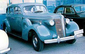 1937 Buick Century 4-Door Sedan