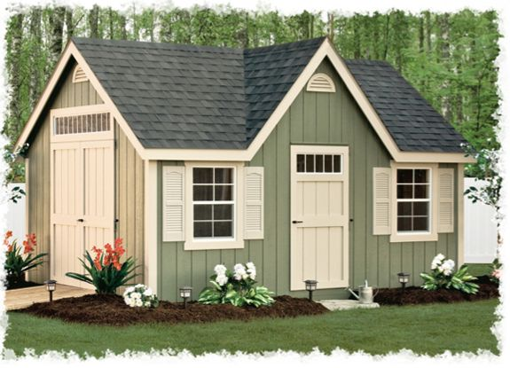 storage sheds lancaster county barns new england deluxe - Garden Sheds New Hampshire