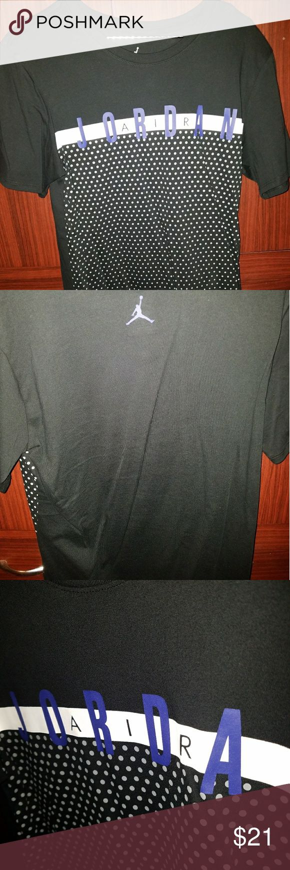 Jordan T-Shirt Black SIZE SMALL Shirt is to match the Space Jam 11s  Only worn Once! $35 retail Jordan Shirts Tees - Short Sleeve