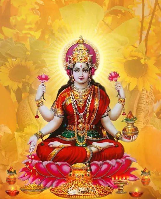 Goddess Maa LAKSHMI Beautiful