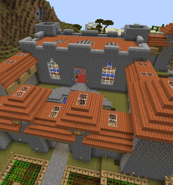 Multiplayer Server - Acacia Town - Castle