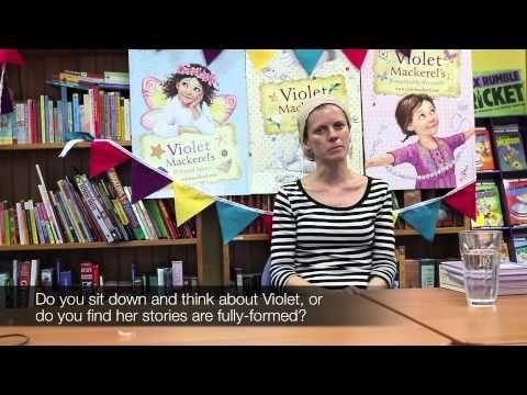Anna Branford on how Violet Mackerel, Part 1