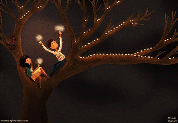 Happy Diwali Festival of Lights blank card by nidhi on Etsy