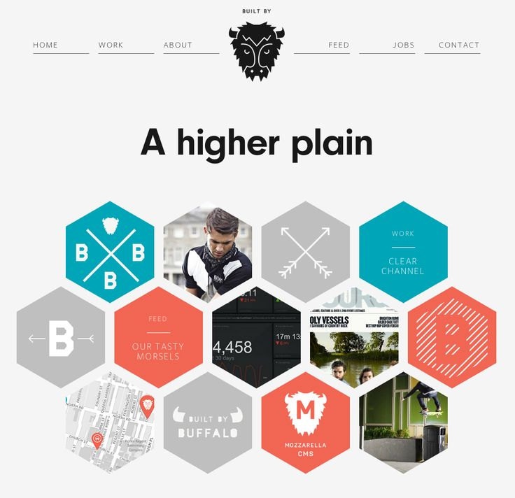 http://builtbybuffalo.com/ Buffalo is a small web design & development agency based in Brighton, UK.