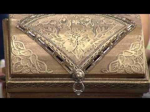 Programa Arte Brasil - 08/06/2015 - Célia Bonomi - Caixa com Textura Metalizada - YouTube