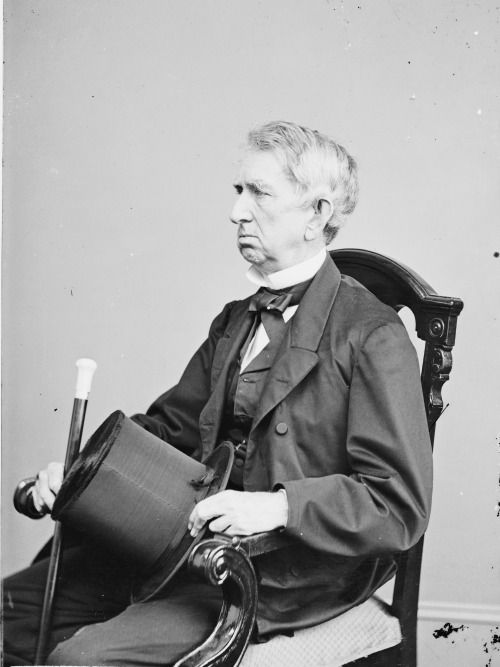 William H. Seward, 24th United States Secretary of State, circa 1860 to 1865 via reddit