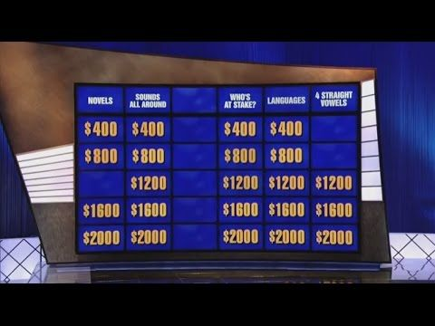 Forget Price is Right Wheel of Fortune and Millionaire this guy has the largest set of balls I have ever seen on Jeopardy. https://www.youtube.com/watch?v=Kq7eXjGW88Q
