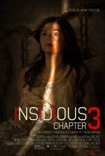 Insidious: Chapter 3 (2015)  A prequel set before the haunting of the Lambert family that reveals how gifted psychic Elise Rainier reluctantly agrees to use her ability to contact the dead in order to help a teenage girl who has been targeted by a dangerous supernatural entity.