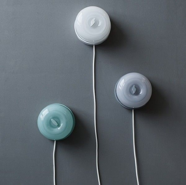 Switch by Caroline Olsson // these wall lamps would look great by a bedside #interiors #decor