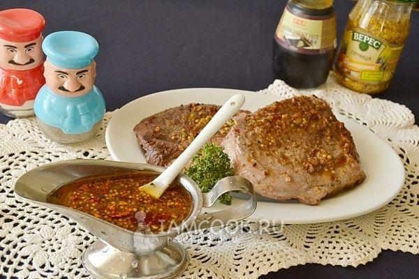 Фото маринада для свинины в духовке