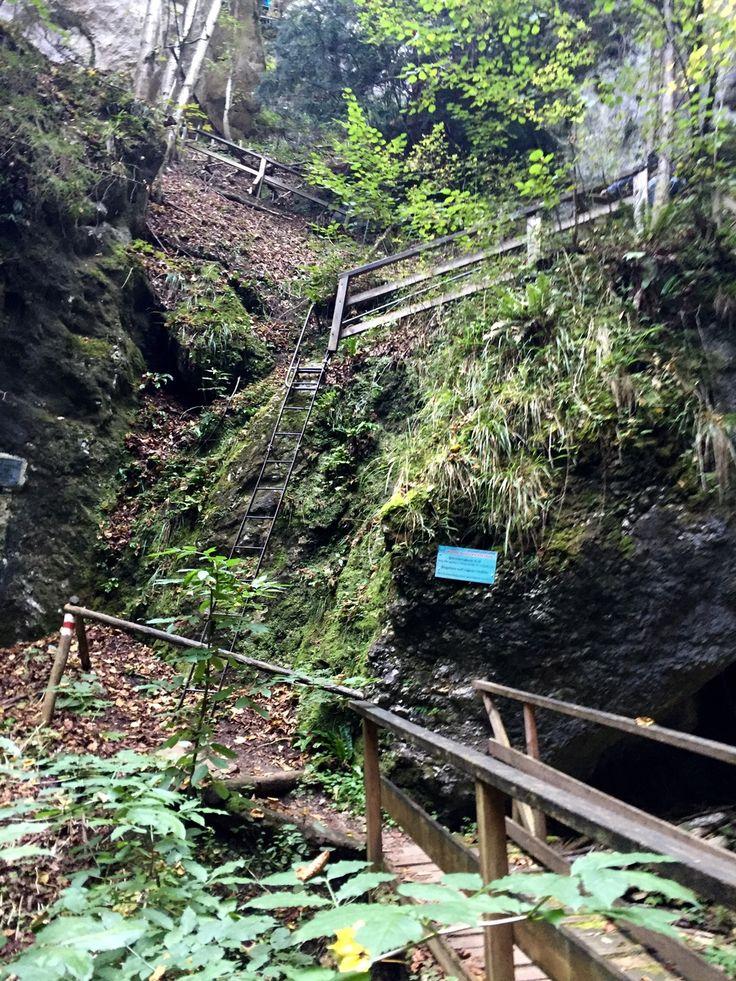 Ausztria - Myrafalle lépcsős vízesés és a Steinwandklamm szurdok