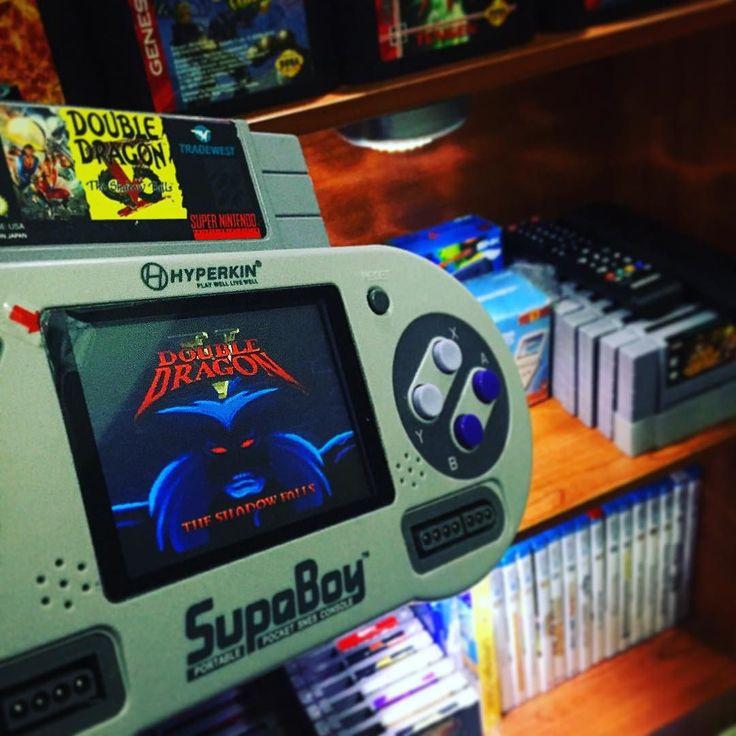 On instagram by tropicalbits  #retrogames #microhobbit (o)  http://ift.tt/1JnrKTK  Good night! #fight night!  #doubledragon #nintendolife #Nintendo #ninstagram #hyperkin #supaboy #ufc #tradewest #retro #retrogamer  #retrogaming #retrocollective #game #gamer #games #gaming #videogame #videogames #videogameaddict #videogamecollection #igersnintendo #xbox #playstation #snes #supernintendo #nes #wii #3ds