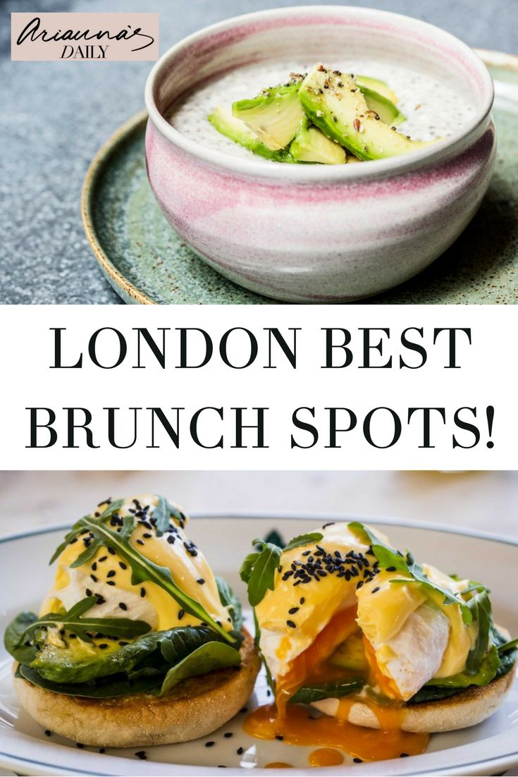 There are some amazing places to eat brunch in London, and I could create such a huge list, but here are 5 of my favourite brunch places in London at the moment. Have you been to any of them? Brunch is such a great meal, perfect for relaxing and hanging out with friends and family. #ariannasdaily #brunch #brunchlondon #brunchinlondon