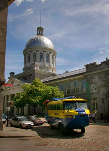 Montreal Schedule and Rates--amphibus