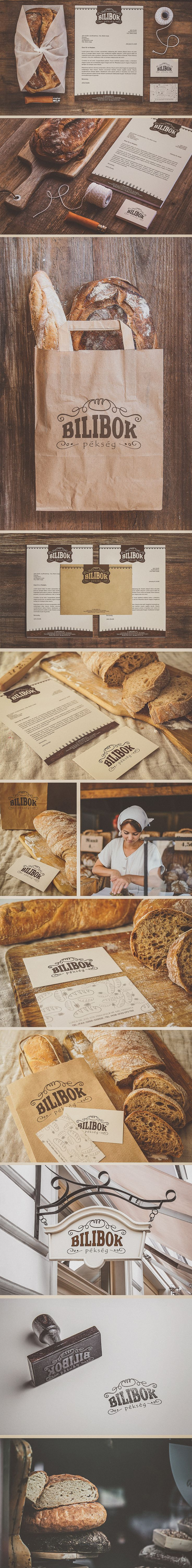 Bilibok Bakery Branding on Behance