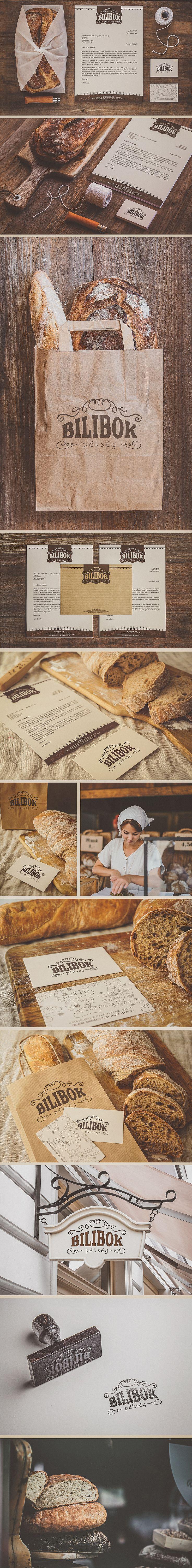 Bilibok Bakery Branding on Behance                                                                                                                                                                                 More